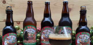 A Mini Vertical Tasting of Santa's Little Helper Imperial Stout