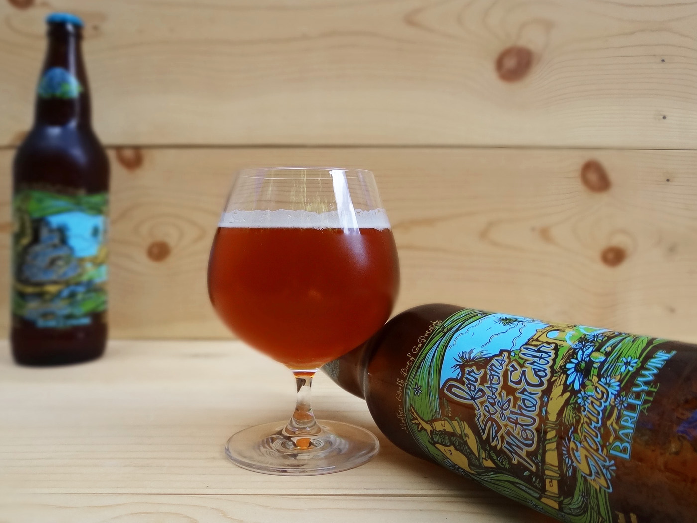 Four Seasons Of Mother Earth: Spring Barleywine Ale – Tantalus (2016)