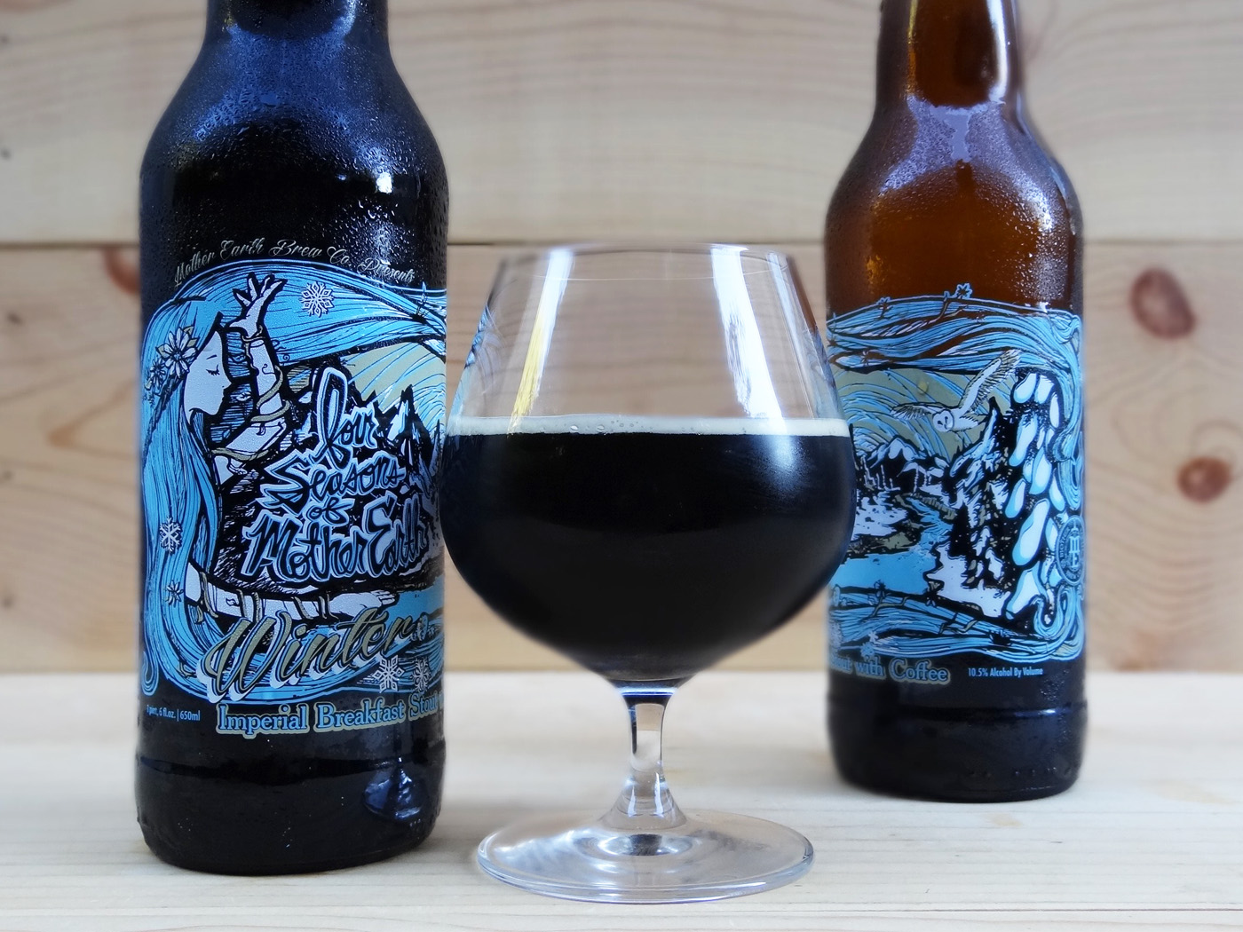 Four Seasons of Mother Earth Winter Breakfast Stout with Coffee